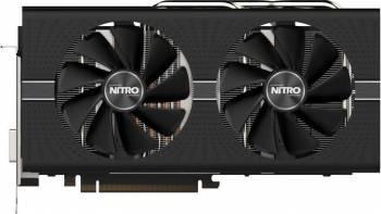 Placa video Sapphire Radeon RX 580 Nitro+ 8GB GDDR5 256bit Samsung Memory Placi video