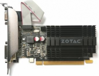 Placa video Zotac GeForce GT 710 2GB DDR3 64Bit Low Profile Placi video
