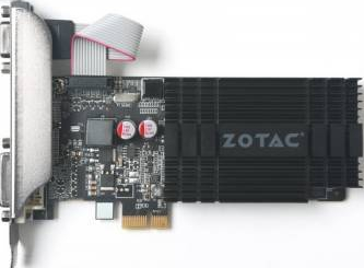 Placa video Zotac GeForce GT 710 Zone Edition 1GB GDDR3 64bit Placi video