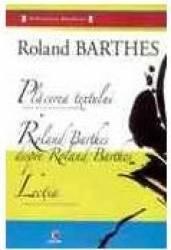 Placerea textului - Roland Barthes