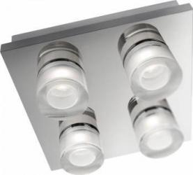 Plafoniera Philips Darius, 4x2W, LED, Chrome Corpuri de iluminat