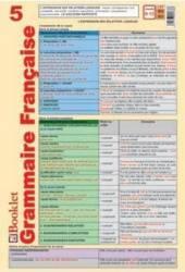 Plansa Grammaire Francaise 5