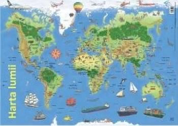 Plansa Harta lumii
