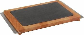 Platou servire 35 x 25 cm - LAVA  Vesela pentru masa