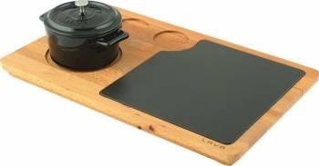 Platou servire cratita ovala - LAVA  Vesela pentru masa