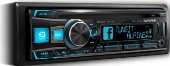 Player Auto Alpine CDE-185BT Negru Player Auto