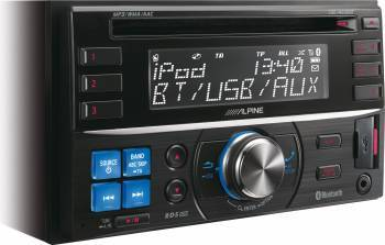 Player Auto Alpine CDE-W235BT Negru