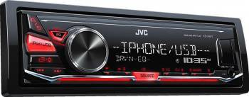 Player auto JVC KD-X241 4x50W USB AUX Subwoofer control Player Auto