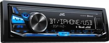 Player Auto JVC KDX341BT 4x50W USB Bluetooth Aux Subwoofer control Player Auto