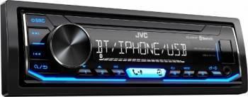 Player Auto JVC KD-X351BT 1-DIN Bluetooth USB Aux-in Black Player Auto