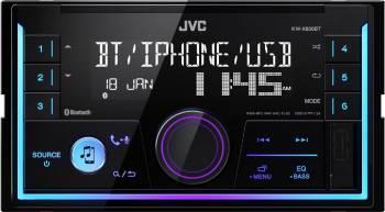 Player auto JVC KW-X830BT2DIN 4x50W USB AUX Bluetooth Culori variabile Player Auto
