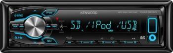 Player Auto Kenwood KMM-361SD 4x50W SD Slot USB Aux-In Player Auto