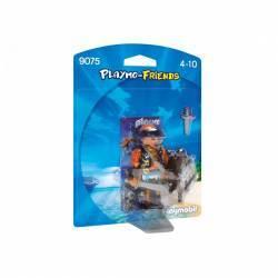 PLAYMOBIL 9075 - PIRAT CU SCUT Papusi figurine si accesorii papusi