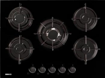 Plita incorporabila Beko HISW75220S Plite Incorporabile