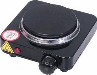 Plita electrica Ardes 500W 1 arzator Termostat reglabil Neagra Plite
