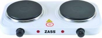 Plita electrica dubla Zass ZHP 05A, 2000W, 2 ochiuri, Temperatura 400 grade Plite