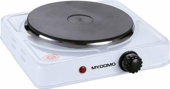 Plita electrica MyDomo ZD-1015A 1 Arzator 1500W Alb