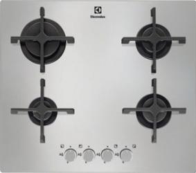 Plita incorporabila Electrolux EGT6342NOX Gaz 4 Arzatoare Aprindere electrica Argintiu Plite Incorporabile