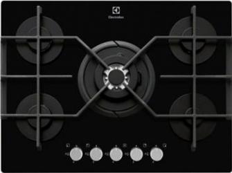 Plita incorporabila Electrolux EGT7353YOK Gaz 5 Arzatoare Aprindere electrica Negru Plite Incorporabile