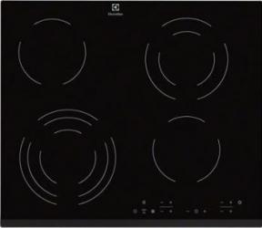 Plita incorporabila Electrolux EHF6343FOK 6400W 4 Arzatoare Negru Plite Incorporabile