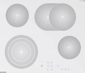 Plita incorporabila Gorenje ECT680ORAW Vitroceramica 4 zone de gatit Alb