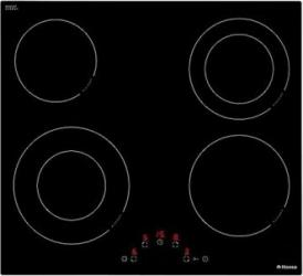 Plita incorporabila Hansa BHC63506 Vitroceramica 4 Zone Touch control Sticla Neagra Plite Incorporabile