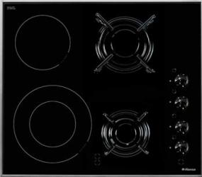 Plita incorporabila Hansa BHMI61414030 4 arzatoare Negru Plite Incorporabile