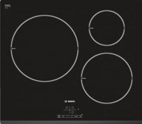 Plita incorporabila Bosch PIL631B18E Inductie 3 zone de gatit Negru Plite Incorporabile