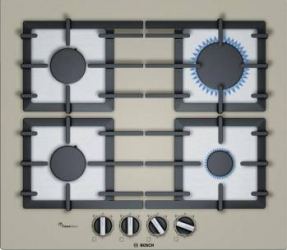 Plita incorporabila Bosch PPP6A8B90 Gaz 4 arzatoare Plite Incorporabile