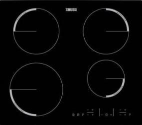 Plita incorporabila cu inductie Zanussi ZEL6640FBA 4 zone de gatit Negru Plite Incorporabile