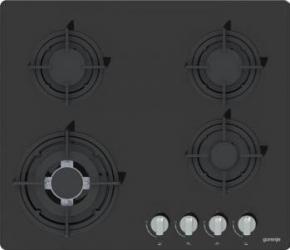 Plita incorporabila Gorenje GTW64B Gaz 4 arzatoare Neagra Plite Incorporabile