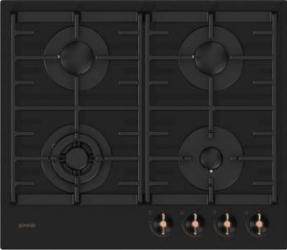Plita incorporabila Gorenje GTW6INB Gaz 4 Arzatoare Dispozitiv siguranta Negru Plite Incorporabile