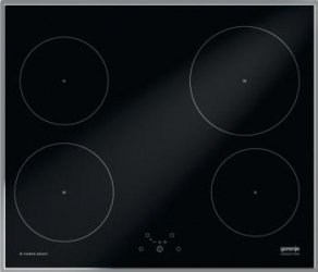 Plita incorporabila Gorenje IT614X Inductie 4 zone de gatit Touch control Negru Plite Incorporabile