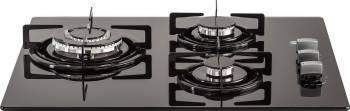 Plita incorporabila LDK JZ3 603-A Gaz 4 Arzatoare Dispozitiv siguranta Negru