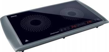 Plita Incorporabila Sencor SCP 5303 GY 2 arzatoare 2900W Negru-Gri Plite Incorporabile