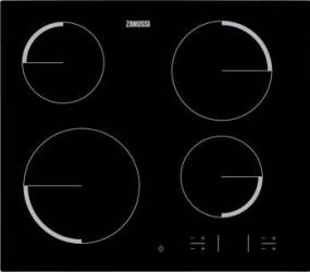 Plita incorporabila Zanussi ZEV6340FBA Electric Vitroceramica 4 zone de gatit Negru Plite Incorporabile