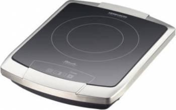 Plita simpla Rommelsbacher Ceran TouchControl Afisaj LED 2200W Otel inoxidabil Plite