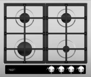 Plita incorporabila Studio Casa Aria Inox Cristal 4F Plite Incorporabile