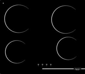 Plita incorporabila Studio Casa VCR 4R Digi Venezia 4 arzatoare Negru Plite Incorporabile