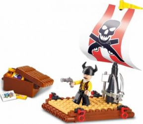 Pluta pirati Sluban Pirate M38-B0277