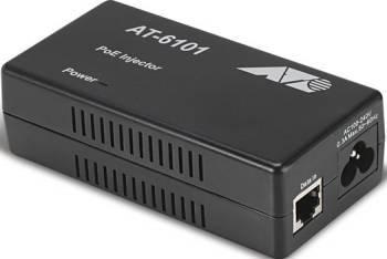 PoE+ Injector Allied Telesis AT-6101GP Adaptor Retea