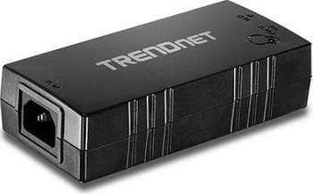 PoE Injector Trendnet TPE-115GI Gigabit PoE+ Adaptor Retea