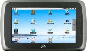 imagine Tableta Point of View 7 inch Android 2.1 8GB 256MB mobii tablet 8gb