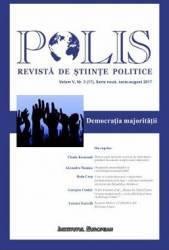 Polis vol.5 nr.3 17 Serie noua iunie-august 2017 Revista de Stiinte Politice