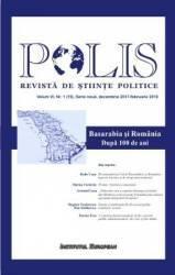 Polis Vol.6 Nr.1 19 Serie noua Decembrie 2017-Februarie 2018 Revista de Stiinte Politice