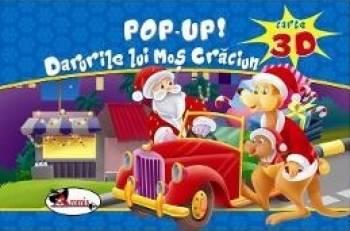 Pop-up 3D Darurile lui Mos Craciun