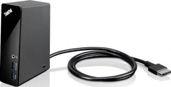 Port Replicator Lenovo ThinkPad OneLink - Midnight Black Resigilat Docking Station