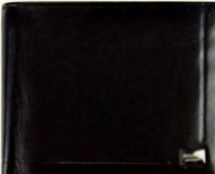 Portofel barbati din piele naturala GPB484-Negru Portofele