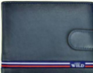Portofel barbati din piele naturala GPB543-Albastru Portofele