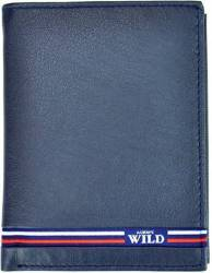 Portofel barbati din piele naturala GPB544-Albastru Portofele